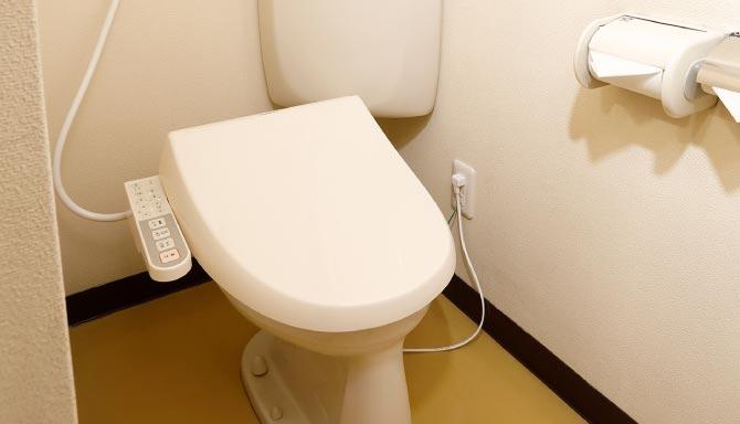 共有トイレ